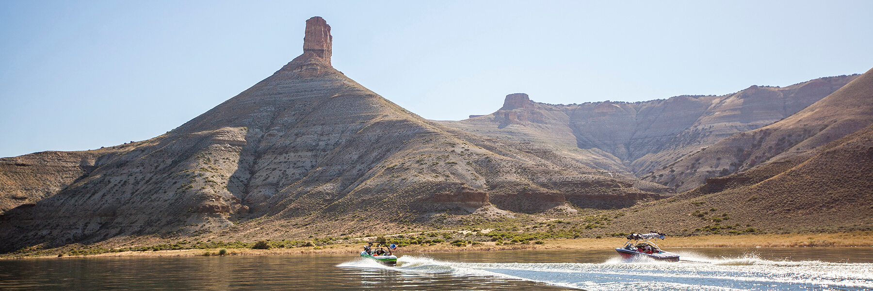 Boating in Flaming Gorge National Recreation Area